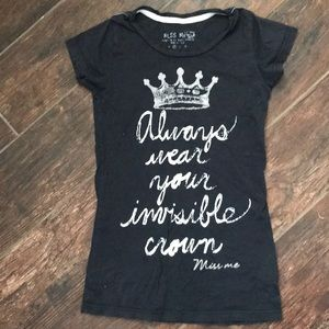 Miss Me Shirts & Tops - 👑Miss Me Girls Size M Top👑